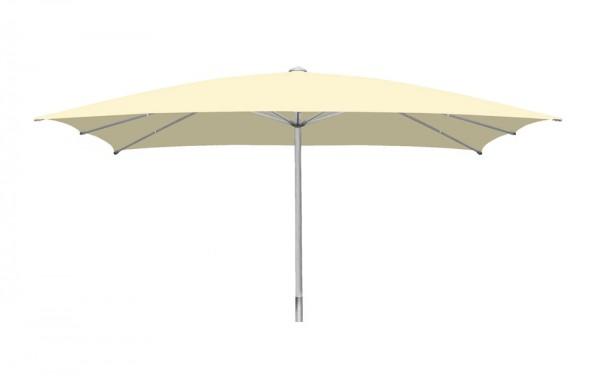 Sonnenschirm Sombrero rechteckig 600 x 800cm, beige, Standrohr Ø 110mm