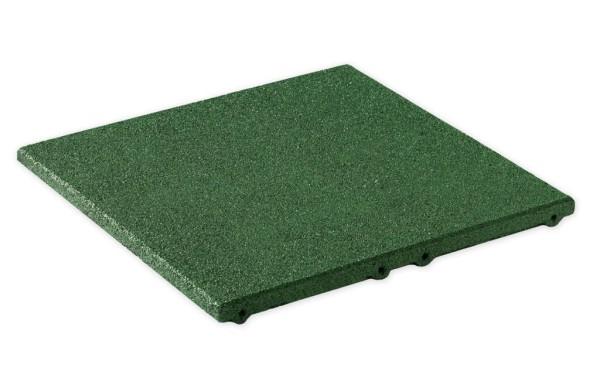 Fallschutzplatten aus Gummigranulat für die Fallhöhe von 1,00 - 2,40 m Grün
