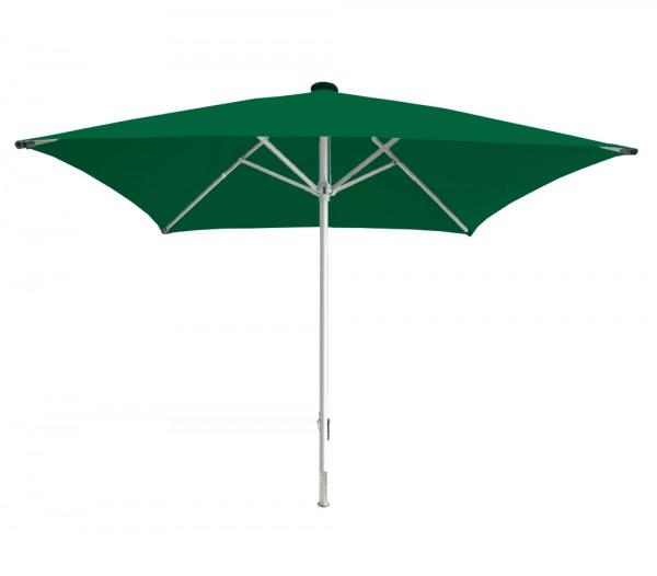 Sonnenschirm Facil quadratisch 500 x 500cm, grün, Standrohrdurchmesser 90mm