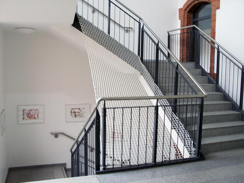 Schutznetze-treppenauge