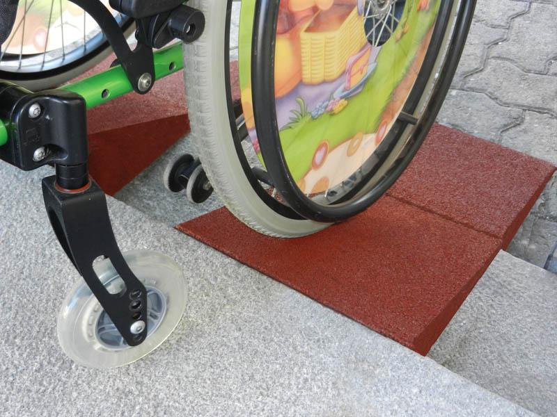 Rollstuhlrampe 25cm breit