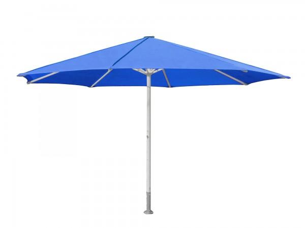 ROFI Klima Pro Comfort parasol, round Ø10m, standpipe Ø 1100mm, blue