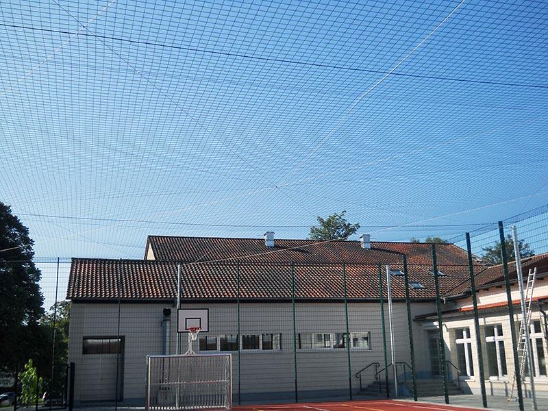 Schutznetz-Ballfangnetz-Basketball