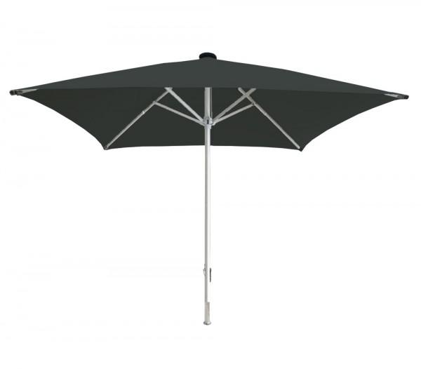 Facil square parasol 600 x 600 cm, anthracite, standpipe diameter 110 mm