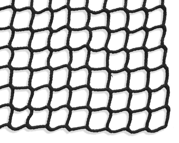 Safety net mesh size 45 mm, Material thickness 5 mm, black