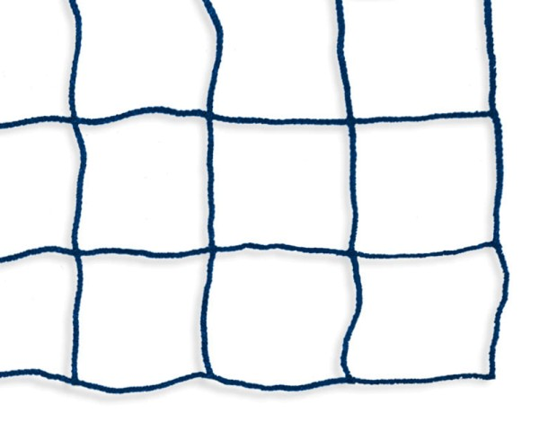 Safety net mesh size 100 mm, Material thickness 3 mm, blue