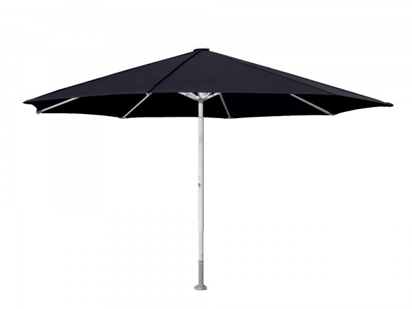 Komfort Sonnenschirm ROFI Klima Pro, rund Ø400cm, Standrohr Ø 60mm, schwarz