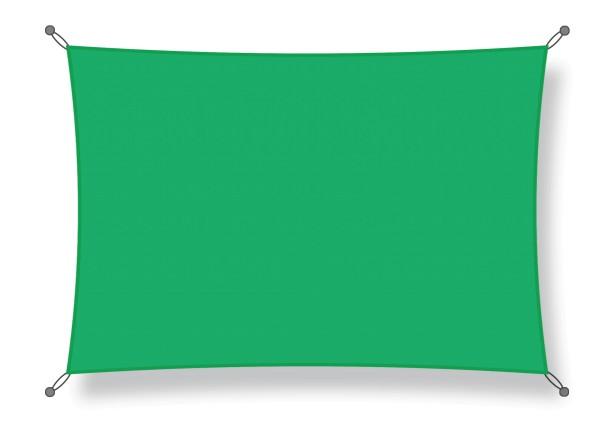 Shade sail 3.50 x 5.00 m light green