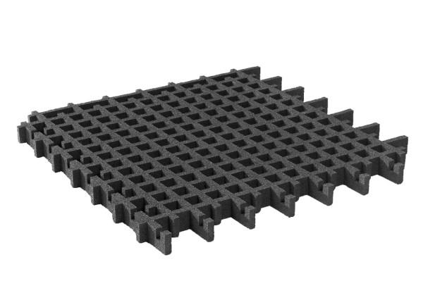 Rasengitterplatte 65 mm, schwarz