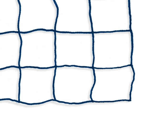 Safety net mesh size 100 mm, Material thickness 4 mm, blue