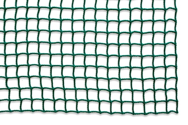 Safety net mesh size 25 mm, Material thickness 2.3 mm, green