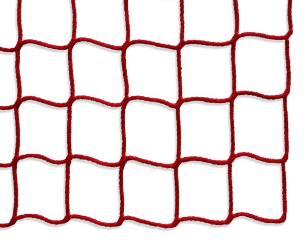 Safety net mesh size 60 mm, Material thickness 5 mm, red