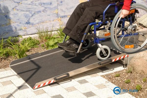 Keilbrücke KLN Rollstuhlrampe oder Auffahrhilfe
