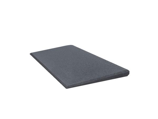 Bordsteinrampe Excellent 500 Auffahrhilfe 25 mm Grau