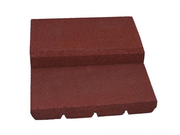 Entry aid bath level Type I 3 pieces incl. rubber adhesive auburn