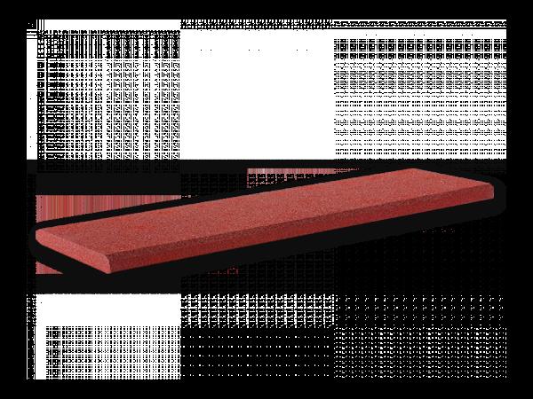 Randabdeckplatte Randabdeckung Mauerschutzauflage 50mm Rotbraun