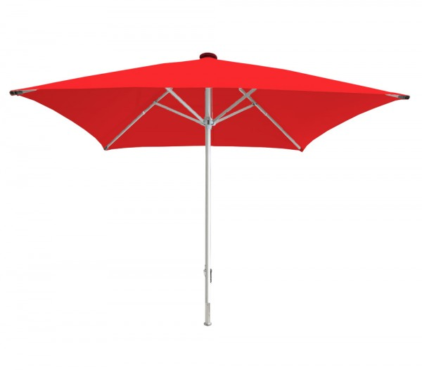 Parasol Beach Facil 450 x 450 cm, red