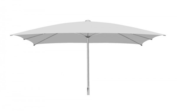 Parasol Sombrero rectangular 400 x 600 cm, light grey