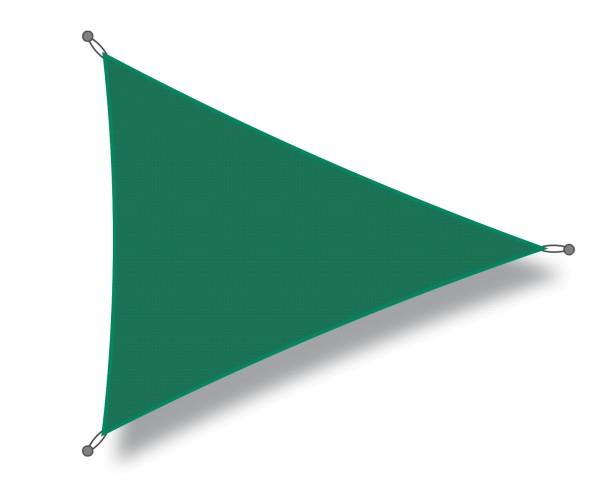 Sonnensegel Dreieck 3 x 3 x 3m dunkelgrün