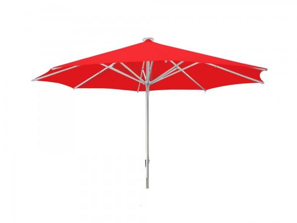 Parasol Sombrero Facil round Ø 400 cm, red