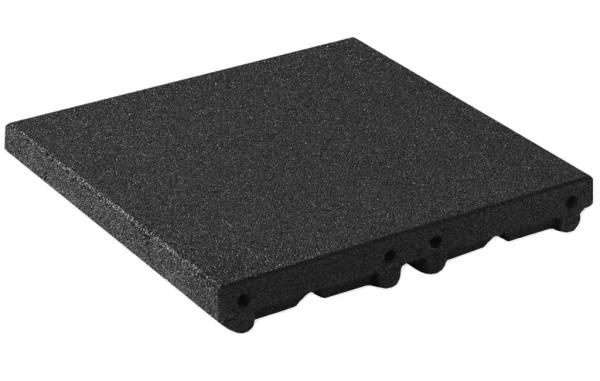 Floor tile modular ramp system 80 mm black