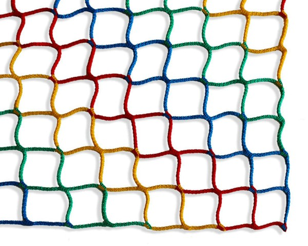 Safety net multicoloured Mesh size 45/3mm